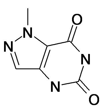 1-Methyl-1,4-dihydro-pyrazolo[4,3-d]pyrimidine-5,7-dione