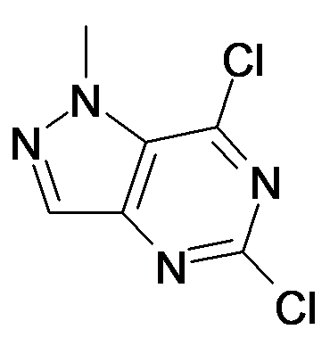 5,7-Dichloro-1-methyl-1H-pyrazolo[4,3-d]pyrimidine