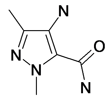 4-Amino-2,5-dimethyl-2H-pyrazole-3-carboxylic acid amide