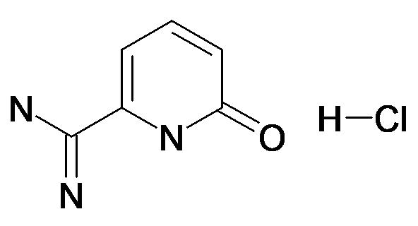6-Oxo-1,6-dihydro-pyridine-2-carboxamidine; hydrochloride