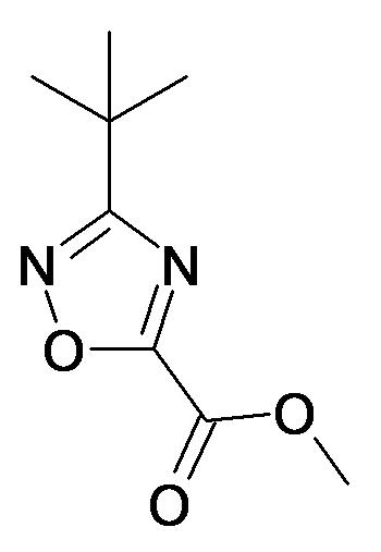 3-tert-Butyl-[1,2,4]oxadiazole-5-carboxylic acid methyl ester