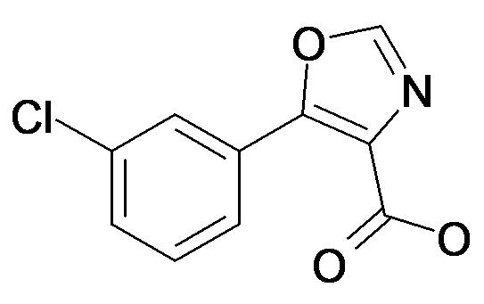 5-(3-Chloro-phenyl)-oxazole-4-carboxylic acid