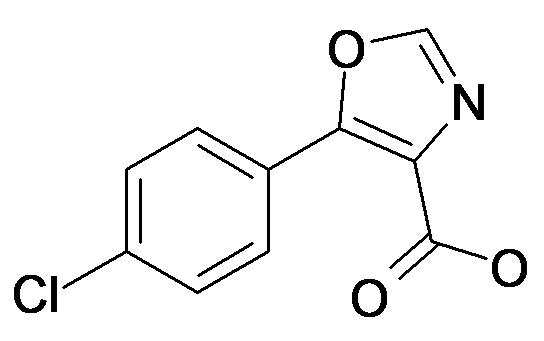 5-(4-Chloro-phenyl)-oxazole-4-carboxylic acid