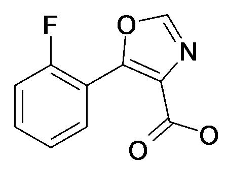 5-(2-Fluoro-phenyl)-oxazole-4-carboxylic acid