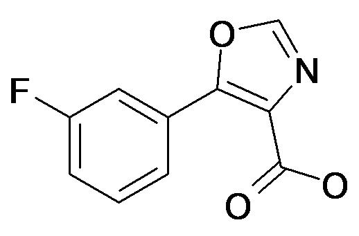 5-(3-Fluoro-phenyl)-oxazole-4-carboxylic acid