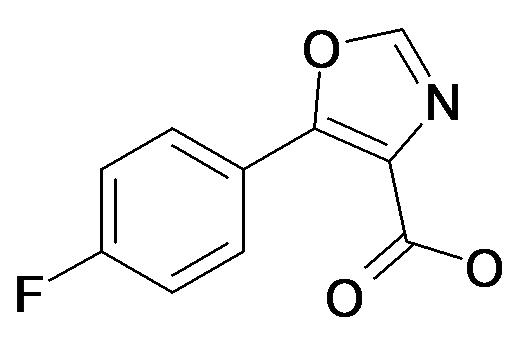 5-(4-Fluoro-phenyl)-oxazole-4-carboxylic acid
