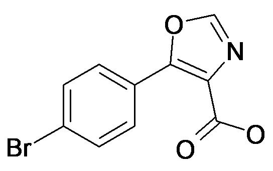 5-(4-Bromo-phenyl)-oxazole-4-carboxylic acid
