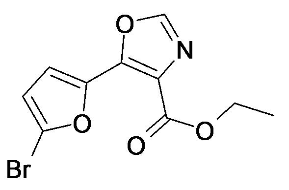5-(5-Bromo-furan-2-yl)-oxazole-4-carboxylic acid ethyl ester