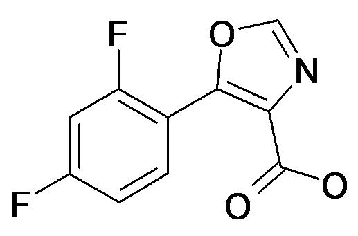 5-(2,4-Difluoro-phenyl)-oxazole-4-carboxylic acid