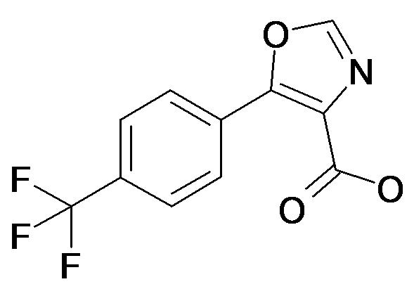 5-(4-Trifluoromethyl-phenyl)-oxazole-4-carboxylic acid