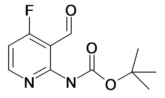 tert-Butyl (4-fluoro-3-formylpyridin-2-yl)carbamate