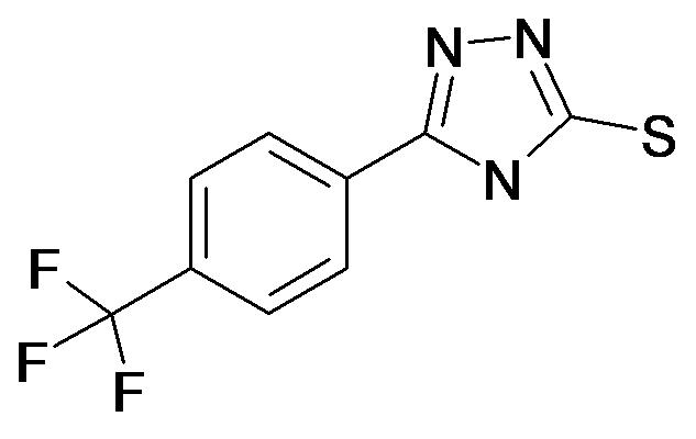 5-(4-Trifluoromethyl-phenyl)-4H-[1,2,4]triazole-3-thiol