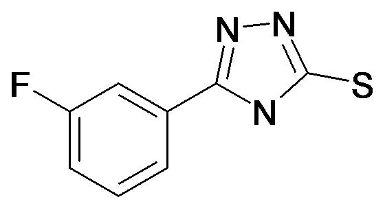5-(3-Fluoro-phenyl)-4H-[1,2,4]triazole-3-thiol