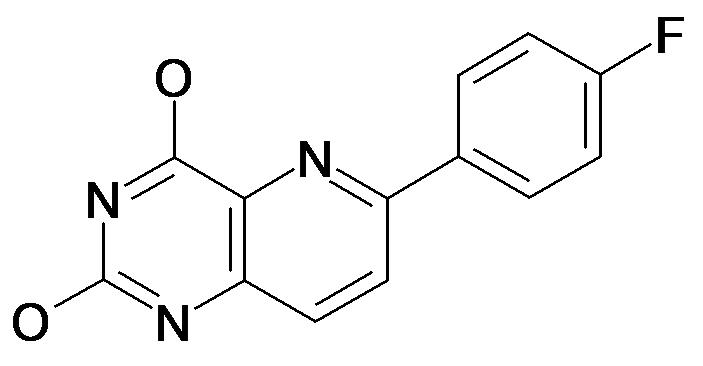 6-(4-Fluoro-phenyl)-pyrido[3,2-d]pyrimidine-2,4-diol