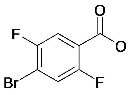 4-Bromo-2,5-difluoro-benzoic acid