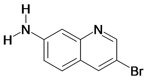3-Bromo-quinolin-7-ylamine