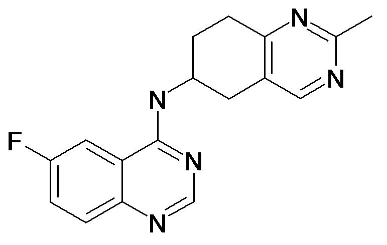 (6-Fluoro-quinazolin-4-yl)-(2-methyl-5,6,7,8-tetrahydro-quinazolin-6-yl)-amine