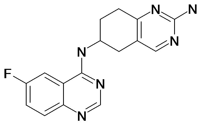 N*6*-(6-Fluoro-quinazolin-4-yl)-5,6,7,8-tetrahydro-quinazoline-2,6-diamine