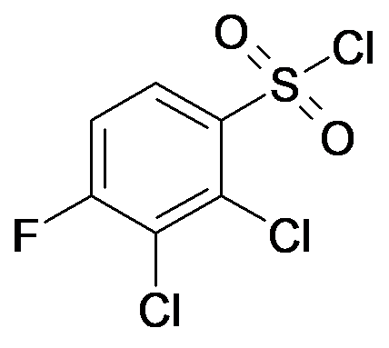 2,3-Dichloro-4-fluoro-benzenesulfonyl chloride