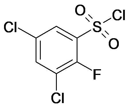 3,5-Dichloro-2-fluoro-benzenesulfonyl chloride