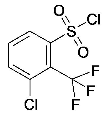 3-Chloro-2-trifluoromethyl-benzenesulfonyl chloride