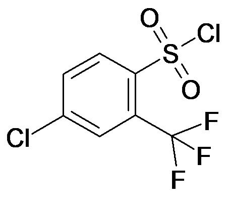 4-Chloro-2-trifluoromethyl-benzenesulfonyl chloride