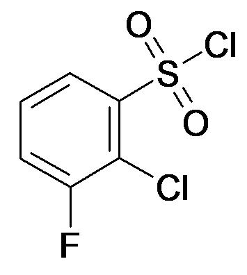 2-Chloro-3-fluoro-benzenesulfonyl chloride