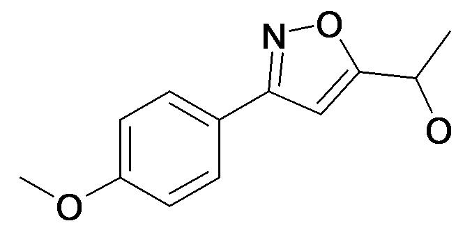 1-[3-(4-Methoxy-phenyl)-isoxazol-5-yl]-ethanol