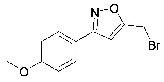 5-Bromomethyl-3-(4-methoxy-phenyl)-isoxazole
