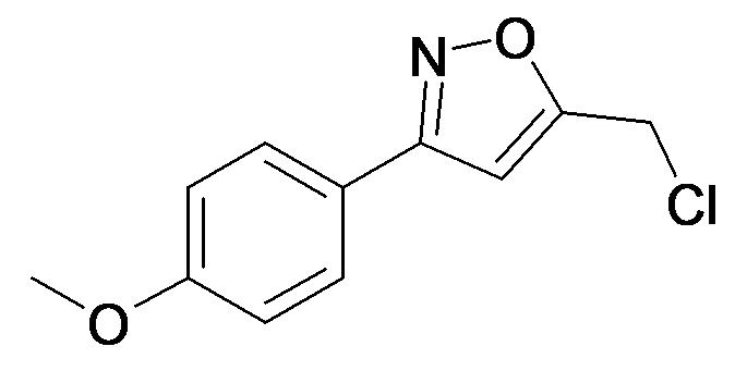 5-Chloromethyl-3-(4-methoxy-phenyl)-isoxazole