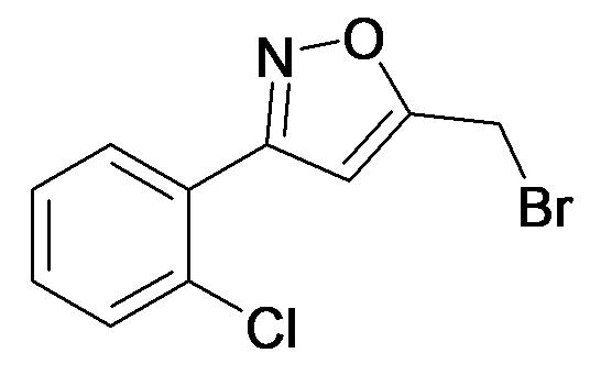 5-Bromomethyl-3-(2-chloro-phenyl)-isoxazole