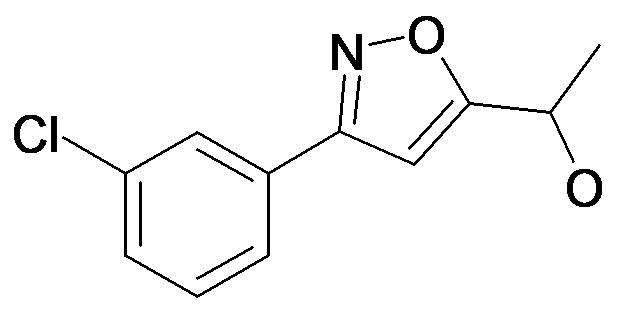 1-[3-(3-Chloro-phenyl)-isoxazol-5-yl]-ethanol