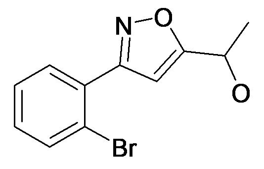 1-[3-(2-Bromo-phenyl)-isoxazol-5-yl]-ethanol