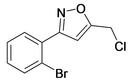 3-(2-Bromo-phenyl)-5-chloromethyl-isoxazole