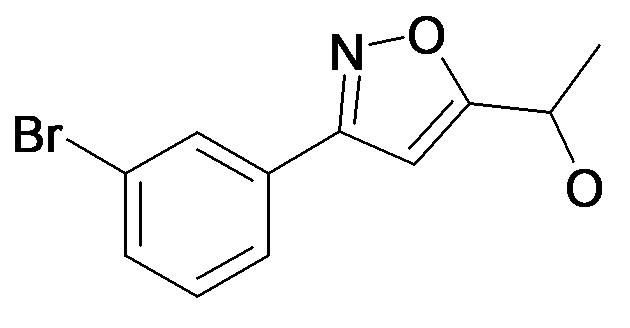 1-[3-(3-Bromo-phenyl)-isoxazol-5-yl]-ethanol