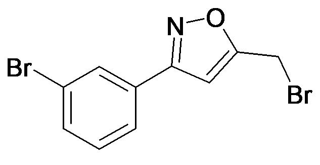 5-Bromomethyl-3-(3-bromo-phenyl)-isoxazole
