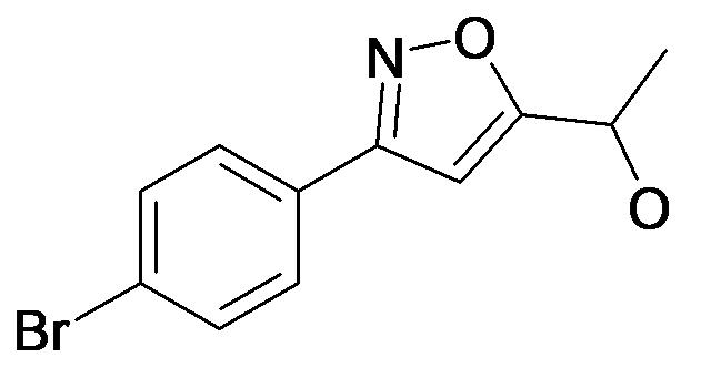 1-[3-(4-Bromo-phenyl)-isoxazol-5-yl]-ethanol