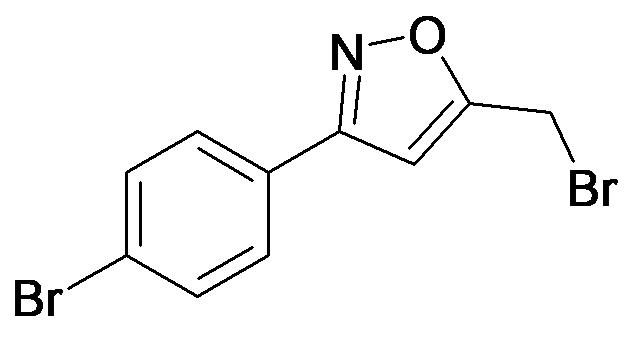 5-Bromomethyl-3-(4-bromo-phenyl)-isoxazole