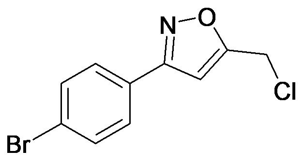3-(4-Bromo-phenyl)-5-chloromethyl-isoxazole