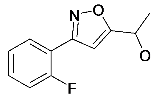1-[3-(2-Fluoro-phenyl)-isoxazol-5-yl]-ethanol