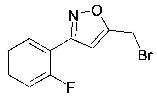 5-Bromomethyl-3-(2-fluoro-phenyl)-isoxazole