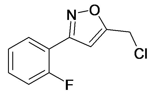 5-Chloromethyl-3-(2-fluoro-phenyl)-isoxazole