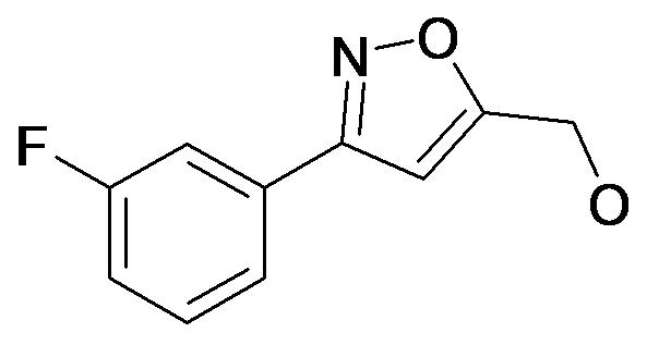 [3-(3-Fluoro-phenyl)-isoxazol-5-yl]-methanol