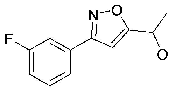 1-[3-(3-Fluoro-phenyl)-isoxazol-5-yl]-ethanol
