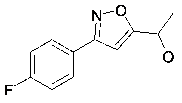 1-[3-(4-Fluoro-phenyl)-isoxazol-5-yl]-ethanol