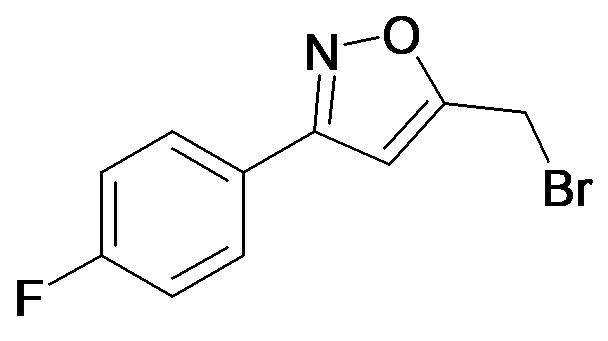 5-Bromomethyl-3-(4-fluoro-phenyl)-isoxazole