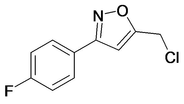 5-Chloromethyl-3-(4-fluoro-phenyl)-isoxazole
