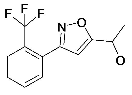 1-[3-(2-Trifluoromethyl-phenyl)-isoxazol-5-yl]-ethanol