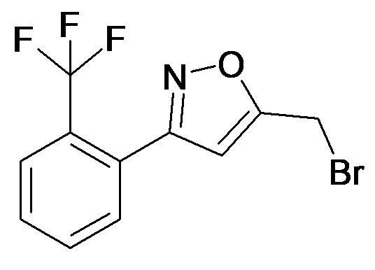 5-Bromomethyl-3-(2-trifluoromethyl-phenyl)-isoxazole