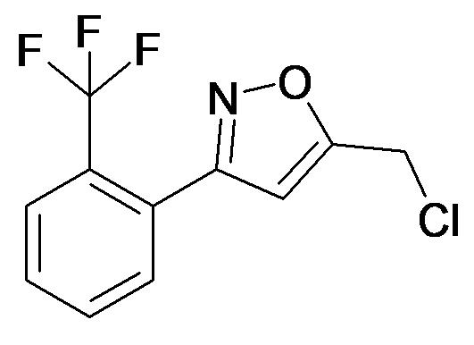 5-Chloromethyl-3-(2-trifluoromethyl-phenyl)-isoxazole